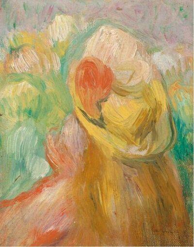 Pierre-Auguste Renoir, 'Petit fille au chapeau jaune', Unknown
