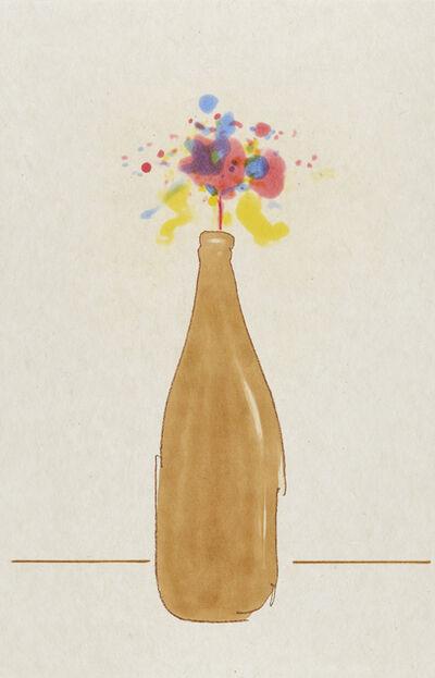 Tom Marioni, 'Beer Bottle Bouquet', 2017