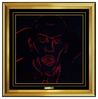 Andy Warhol, 'Dracula (Invitation)', 1981