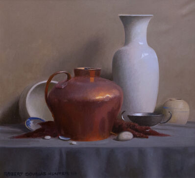Robert Douglas Hunter, 'Still Life with a Covered Copper Bowl', 2014