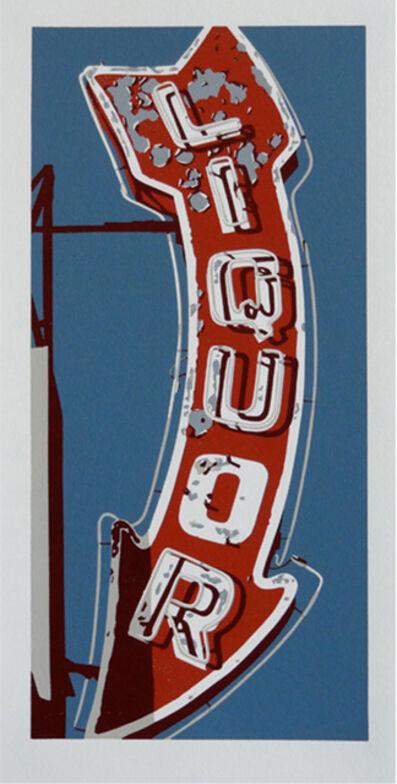 Dave Lefner, 'Lil' Liquor (Red)', 2012