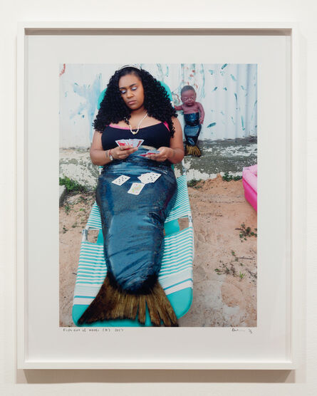 Destiny Deacon, 'Fish out of Water (B)'