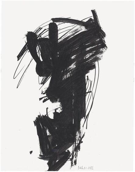 Franz Kline, 'Untitled', c. 1950–1959