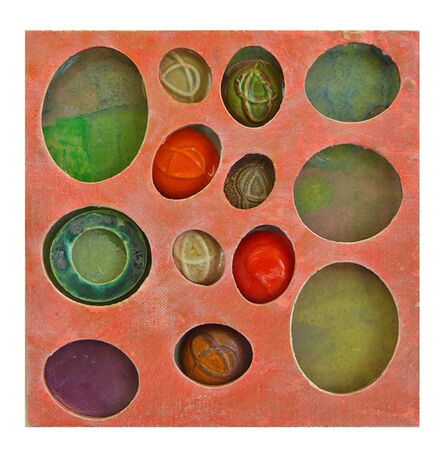 Susan Tunick, 'Pink-Green Ovals ', 2016-2018