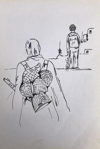 Fayez Sirsawi, 'Diary #2', 1989
