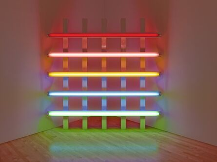 Dan Flavin, 'untitled (in honor of Leo at the 30th anniversary of his gallery)', 1987