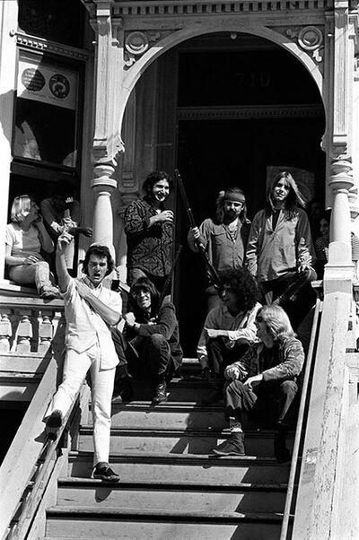 Baron Wolman, 'Grateful Dead on the steps', 1968