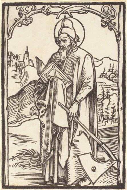 Albrecht Dürer, 'Saint Matthias', ca. 1500