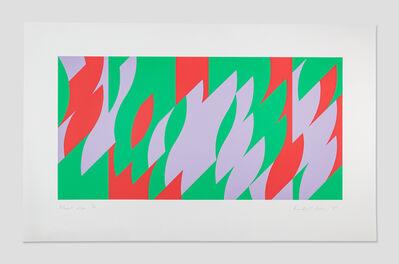Bridget Riley, 'About Lilac', 2007