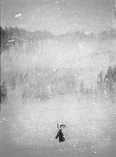 Donata Wenders, 'In the Snow VII', 2010