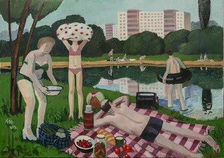 Zoya Cherkassky-Nnadi, 'A Weekend at The Lake', 2020