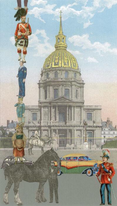 Peter Blake, 'Paris-10 Man Up', 2010