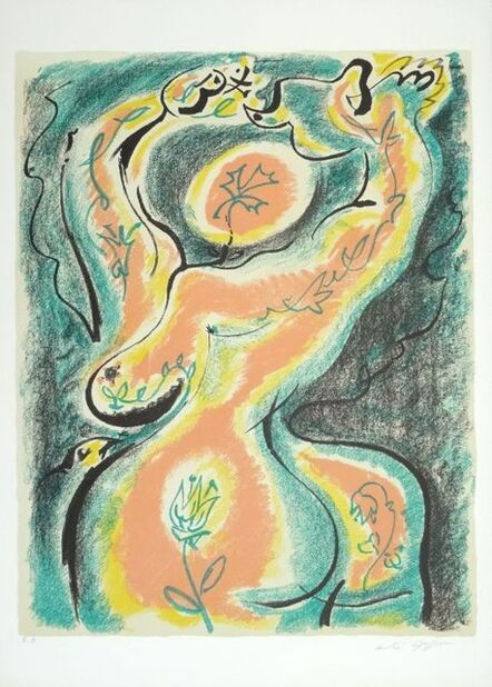 André Masson, 'The metamorphosis of the woman ', 1970