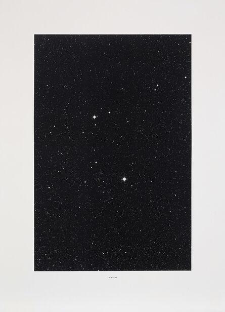 Thomas Ruff, 'Sterne (Stars): one plate (S. 17)', 1990