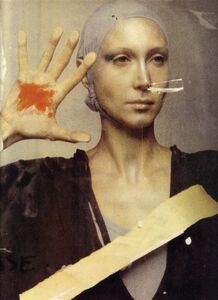 Deborah Turbeville, 'Stigmata: Isabella at Ecole Des Beaux Arts, Paris', 1977