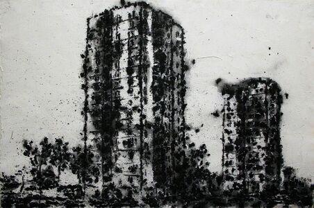 Philippe Cognée, 'Proliferation #4', 1998