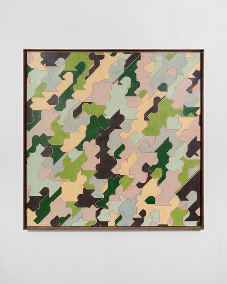 Miles Huston, 'Blank Verse, Greens', 2014