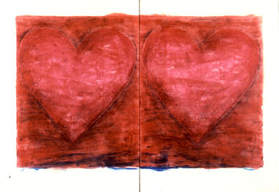 Jim Dine, 'Two Tomatoes', 1981
