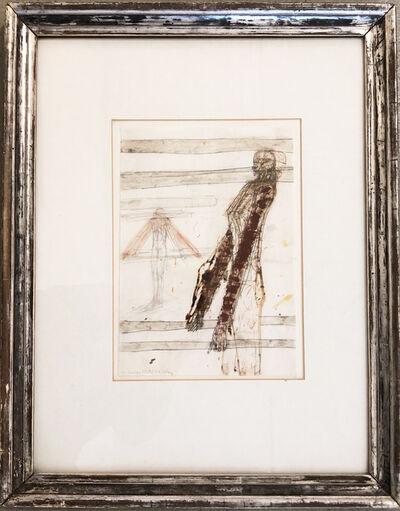 Walter Pichler, 'Dachtragende Figur', 1982