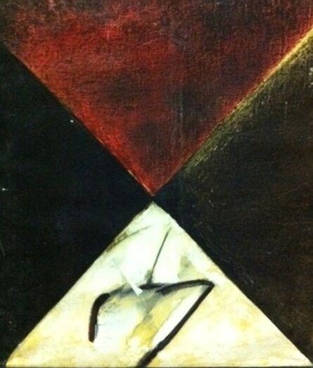 Vijay Shinde, 'Untitled (Red Abstract)', 1994