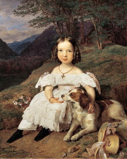 Ferdinand Georg Waldmüller, 'Countesse Julia Apraxin', 1835