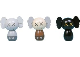 KAWS, 'Kokeshi Doll Set of 3 ( Holiday Japan 2019)', 2019