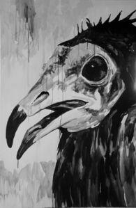 Klaus Verscheure, 'Smiling Face Vulture #3 Pottes #71', 2018