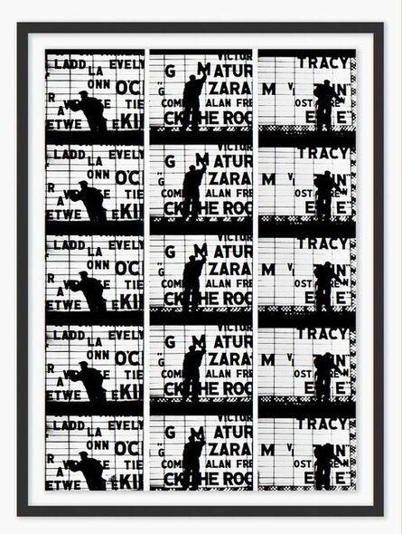 William Klein, 'Film Strips from Broadway by Light', 1958