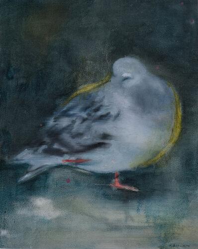 Katrine Claassens, 'Camera Trap Pigeon with the Pinkest Feet', 2020