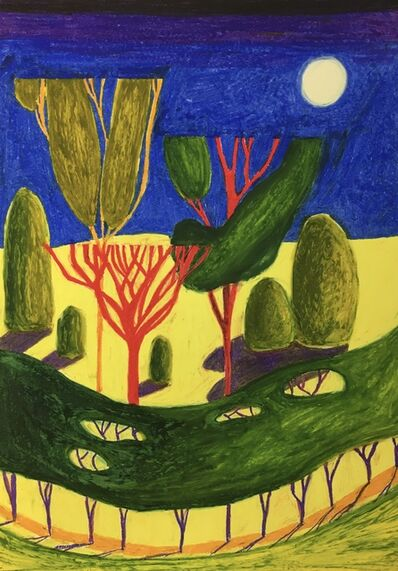 Kidd Murray, 'Night Garden, 2nd March', 2020
