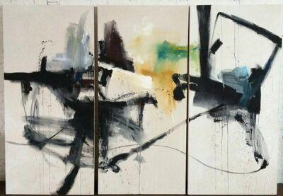 Vicky Barranguet, 'Keep Right (Triptych)', 2015