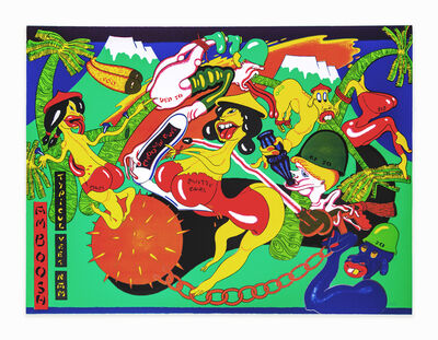Peter Saul, 'Amboosh', 1975