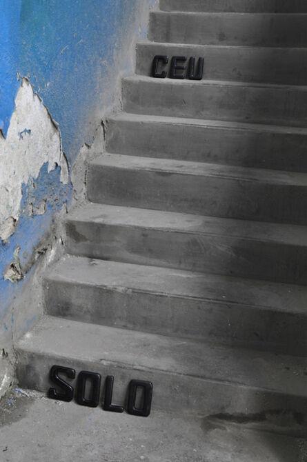 Rochelle Costi, 'Céu Solo - série Escada palavra', 2011