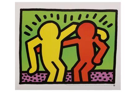 Keith Haring, 'Best buddies', 1987