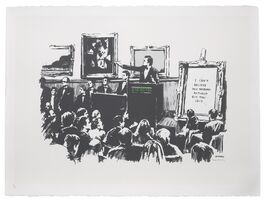 Banksy, 'Morons (signed)', 2007