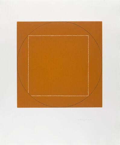 Robert Mangold (b.1937), 'Untitled (From Seven Aquatints)', 1973