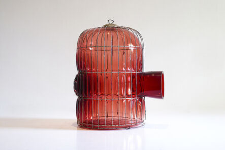 Gala Fernández Montero, 'Red Large Cage', 2014