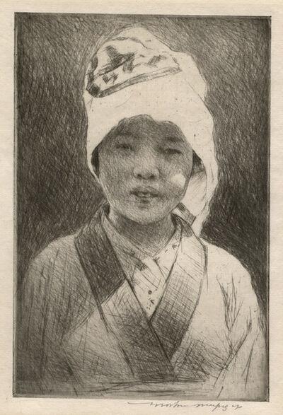 Mortimer Menpes, 'Young Japanese Gardener', 1918-1920