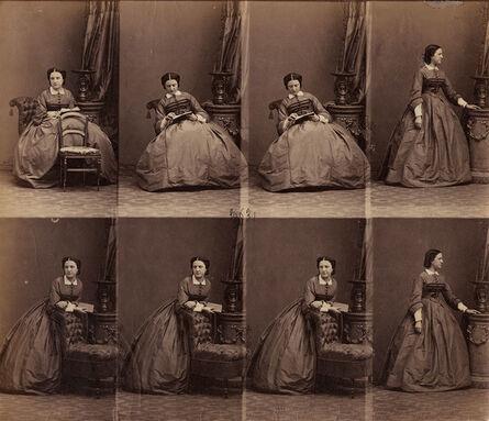 André Adolphe-Eugené Disdéri, 'Mme du Bouzay', ca. 1860