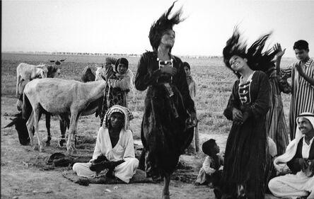 Inge Morath, 'Dancing beduins', 1956