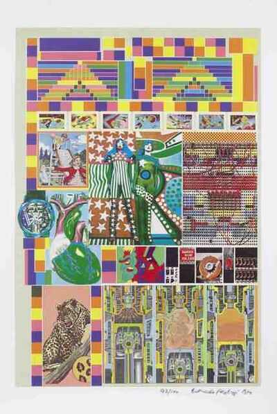 Eduardo Paolozzi, 'Pacific Standard Time', 1970
