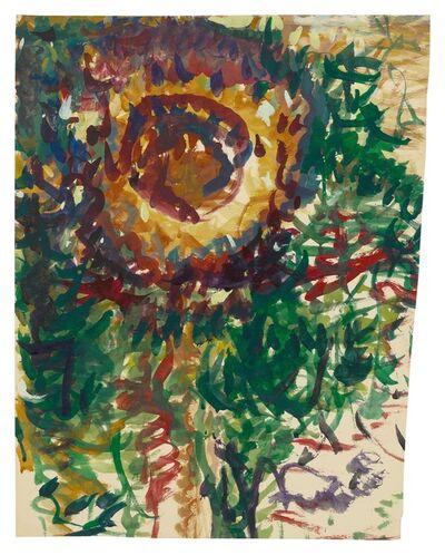 Fritz Ascher, 'Sunflower', undated