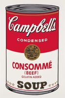 Andy Warhol, 'Campbells Soup Consomme Beef II.52', 1968