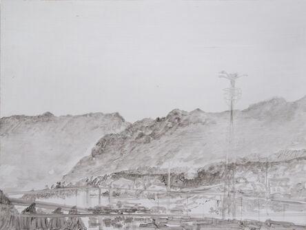 Daniele Genadry, 'Familiar Mountains (17:44)', 2014