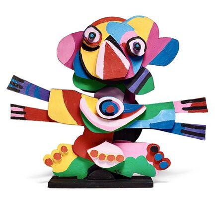 Karel Appel, 'From the Circus series. Flower Clown.', 1978