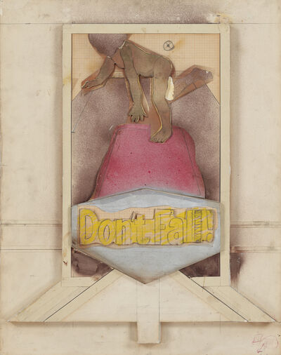 Larry Rivers, 'DON'T FALL II', 1966