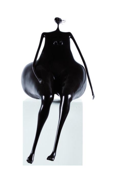Abigail Varela, 'Sentada a la espera', 1995