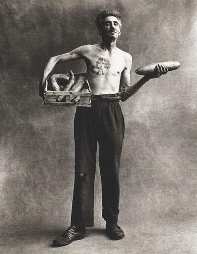 Irving Penn, 'Marchand de Concombres, Paris', 1950