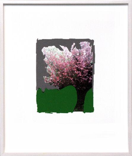 Frank Mädler, 'Pen:Roter Baum auf Grün', 2013