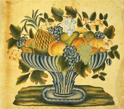 William Stearns, 'Bowl of Fruit', ca. 1830/1840
